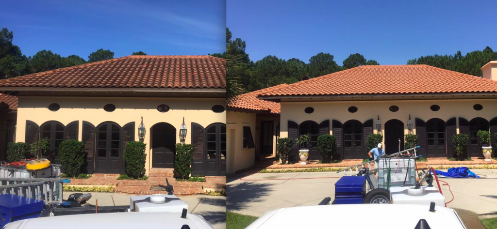 30A Soft Wash Pressure Washing Services