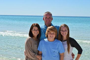 Kevin Barkley Family